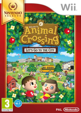 Animal Crossing : Let's Go to the City pochette Wii (RUUP01)