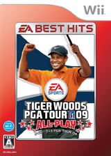 タイガー・ウッズ PGA TOUR 09 ALL-PLAY Wii cover (R9TJ13)