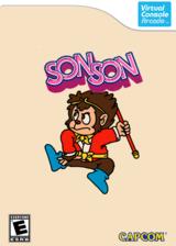 SonSon VC-Arcade cover (E57E)