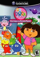 Dora the Explorer: Journey to the Purple Planet GameCube cover (GQLE9G)
