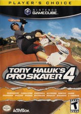 Tony Hawk's Pro Skater 4 GameCube cover (GT4E52)