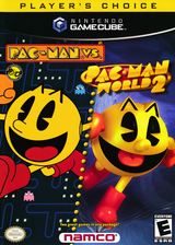 Pac-Man vs. GameCube cover (PRJE01)