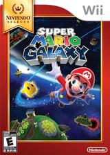 Super Mario Galaxy Wii cover (RMGE01)