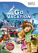 Go Vacation Wii cover (SGVEAF)
