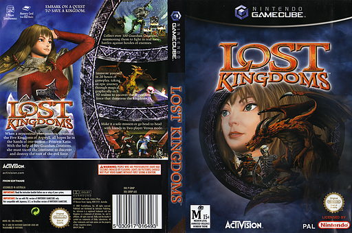 Lost Kingdoms GameCube cover (GRNP52)