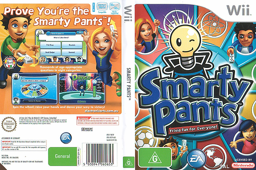Smarty Pants Wii cover (RP2P69)