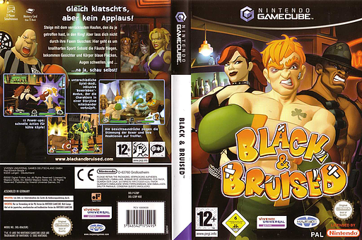 Black & Bruised GameCube cover (G2BP7D)