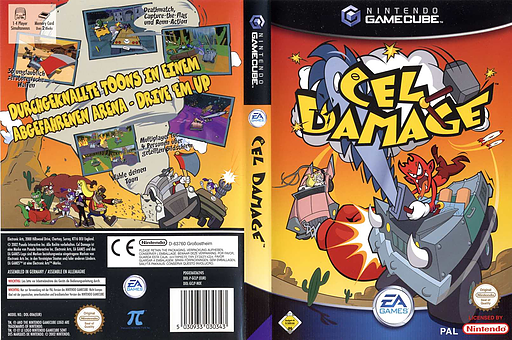 Cel Damage GameCube cover (GCLP69)