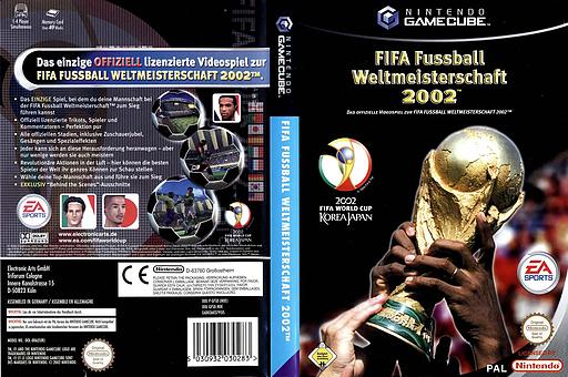 FIFA Fussball Weltmeisterschaft 2002 GameCube cover (GFSD69)