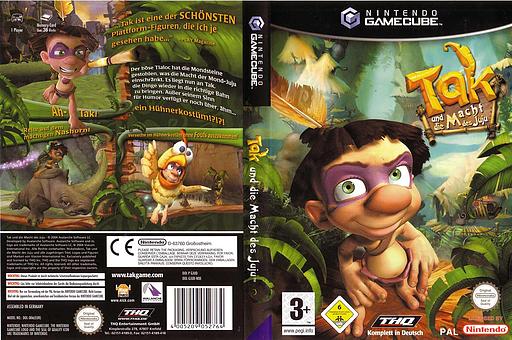 Tak und die Macht des Juju GameCube cover (GJUD78)