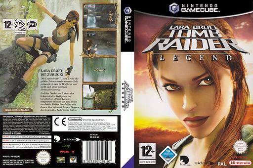 Lara Croft Tomb Raider: Legend GameCube cover (GL8D4F)