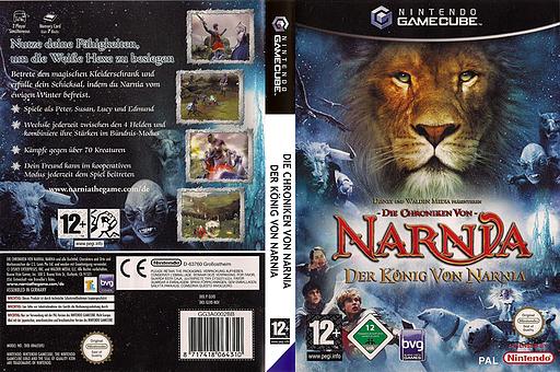 Die Chroniken von Narnia: Der König von Narnia GameCube cover (GLVD4Q)