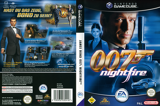 James Bond 007: NightFire GameCube cover (GO7D69)