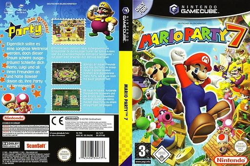 Mario Party 7 GameCube cover (GP7P01)