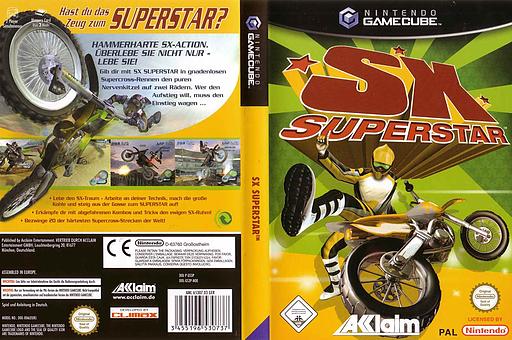 SX Superstar GameCube cover (GS3P51)