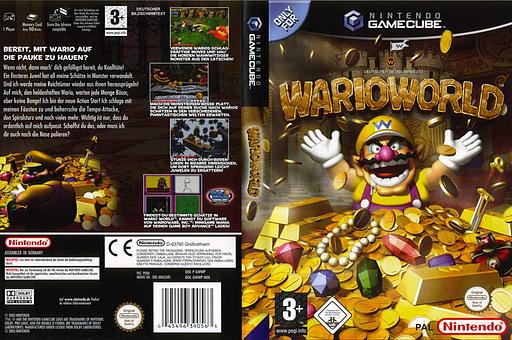 Wario World GameCube cover (GWWP01)