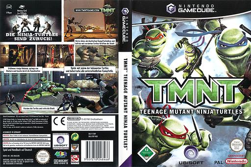 TMNT GameCube cover (GYRP41)