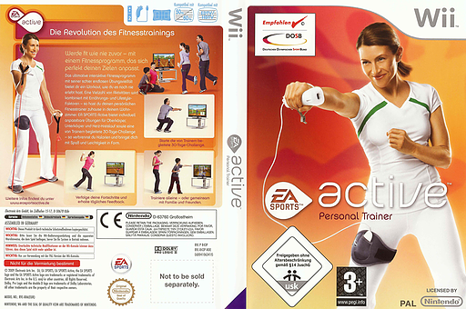 EA Sports Active Wii cover (R43P69)