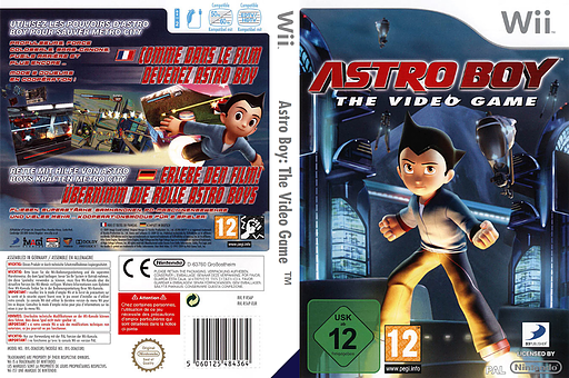 Astro Boy: The Video Game Wii cover (R56PG9)