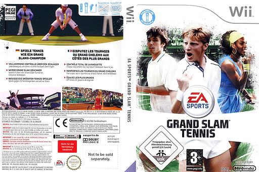 Grand Slam Tennis Wii cover (R5TP69)