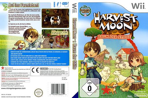 Harvest Moon: Baum der Stille Wii cover (R84P99)