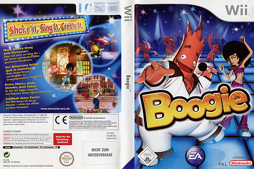 Boogie Wii cover (RBOP69)