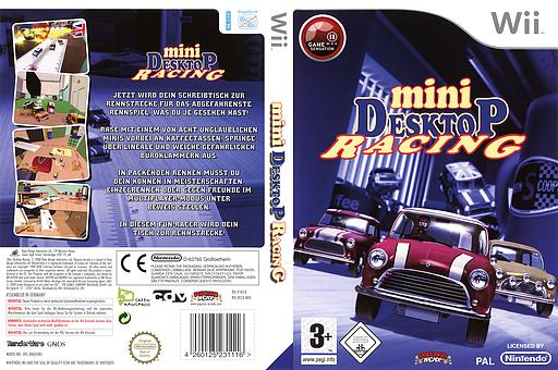 Mini Desktop Racing Wii cover (RCEXUG)