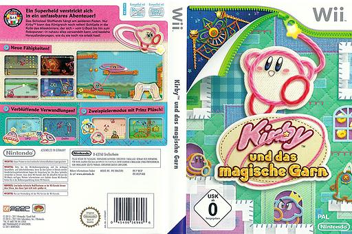 Kirby und das magische Garn Wii cover (RK5P01)