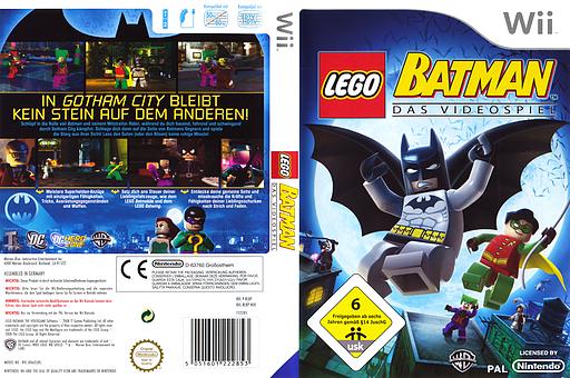LEGO Batman: Das Videospiel Wii cover (RLBPWR)