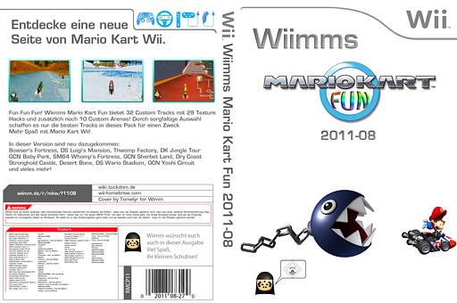 Wiimms MKW Fun 2011-08.pal CUSTOM cover (RMCP11)