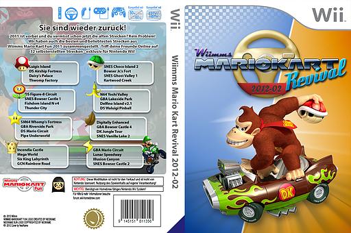 Wiimms MKW Revival 2012-02.pal CUSTOM cover (RMCP14)