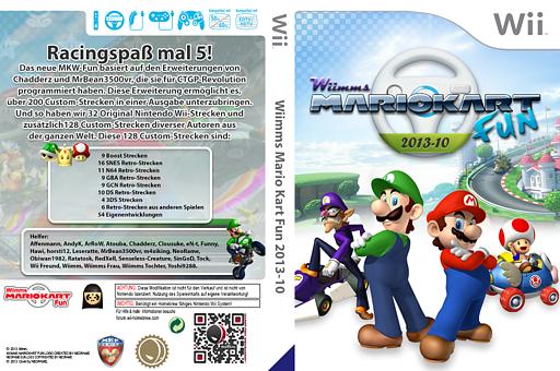 Wiimms MKW Fun 2013-10.pal CUSTOM cover (RMCP22)