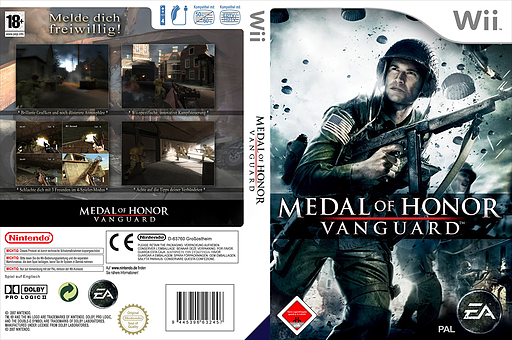 Medal of Honor: Vanguard Wii cover (RMVX69)