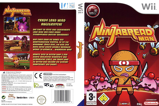 Ninjabread Man Wii cover (RNMPUG)