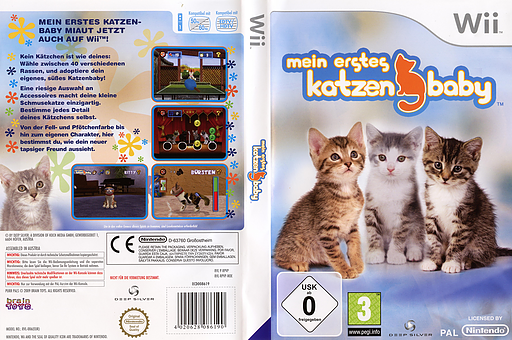 Mein erstes Katzenbaby Wii cover (RPVPKM)