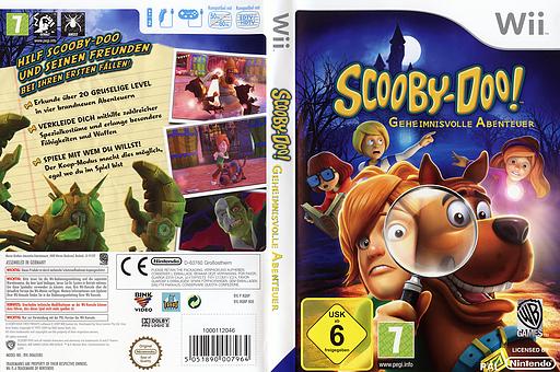 Scooby-Doo! Geheimnisvolle Abenteuer Wii cover (RQNPWR)