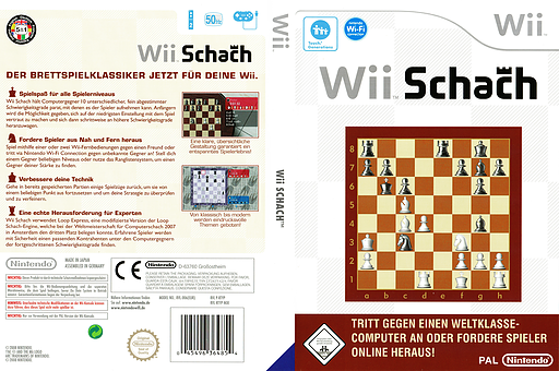 Wii Schach Wii cover (RTYP01)
