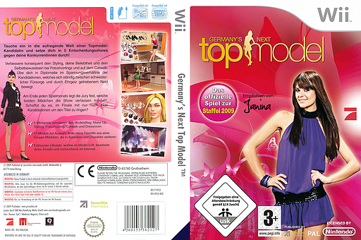 Germany's Next Top Model Wii cover (RYLDSV)