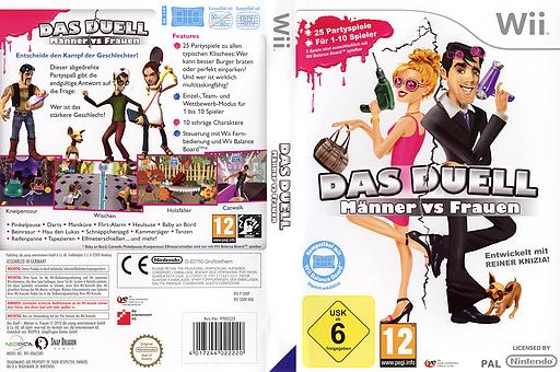 Das Duell - Männer vs Frauen Wii cover (SDDPML)