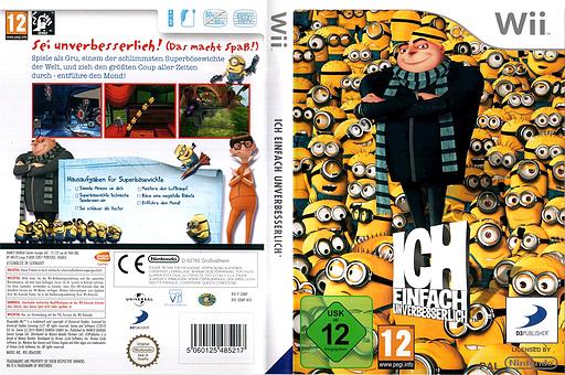 Ich - Einfach Unverbesserlich Wii cover (SDMPAF)