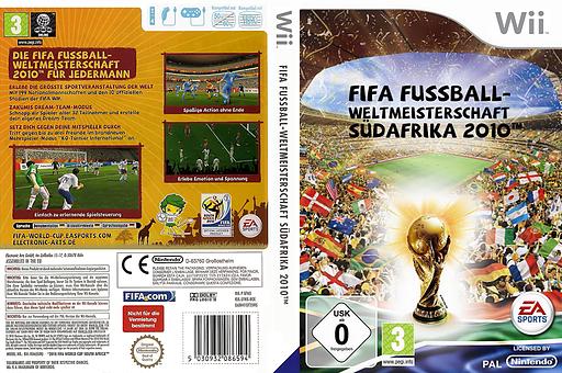 FIFA Fussball-Weltmeisterschaft Südafrika 2010 Wii cover (SFWX69)