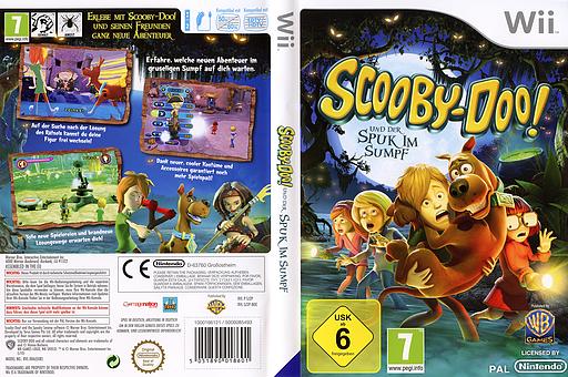 Scooby-Doo! und der Spuk im Sumpf Wii cover (SJ2PWR)