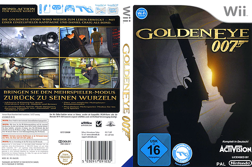 GoldenEye 007 Wii cover (SJBP52)