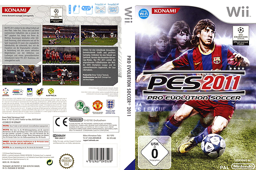 Pro Evolution Soccer 2011 Wii cover (SPVPA4)
