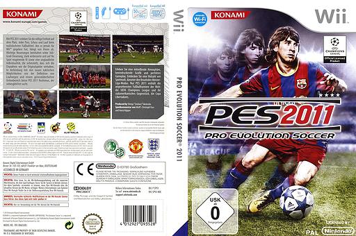 Pro Evolution Soccer 2011 Wii cover (SPVYA4)