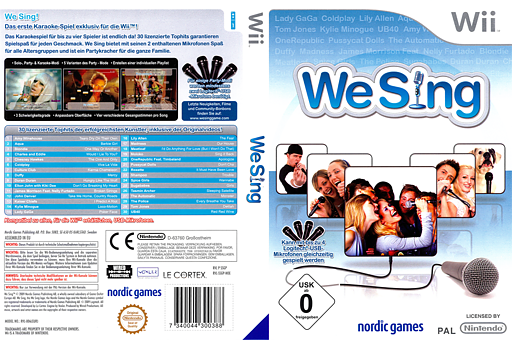 We Sing Wii cover (SSGPNG)