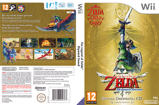 The Legend of Zelda: Skyward Sword Wii cover (SOUP01)