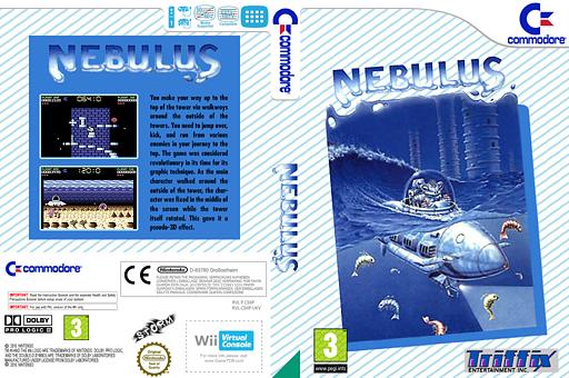 Nebulus VC-C64 cover (C94P)