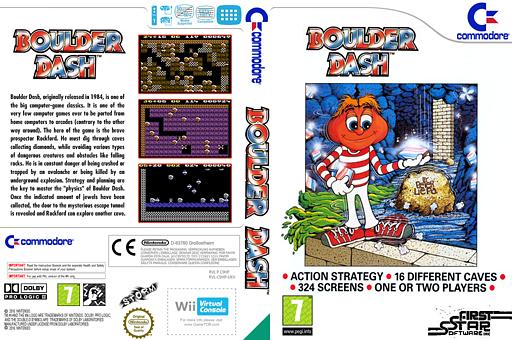 Boulder Dash VC-C64 cover (C9HP)