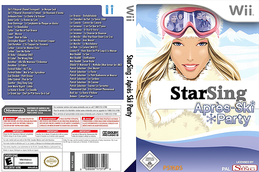 StarSing:Après-Ski Party v2.0 CUSTOM cover (CSJP00)